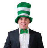 St. Patrick's Day Outfit Royalty Free Stock Photos