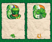 St. Patrick's Day paper series 1 Royalty Free Stock Image
