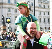 St Patrick's day parade. Stock Images