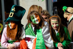 St. Patrick`s Day Parade 4 Stock Photo