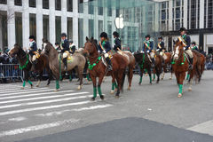 St Patricks Day Parade Stock Photo