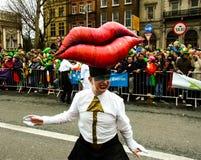 St patrick's day parade dublin ireland Stock Photo
