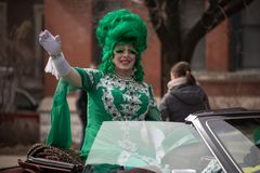 St. Patrick's Day Parade Indianapolis 2018 Royalty Free Stock Photos