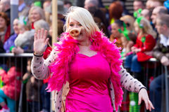 St. Patrick's Day parade in Limerick Stock Images