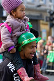 St. Patrick's Day parade in Limerick Royalty Free Stock Photo