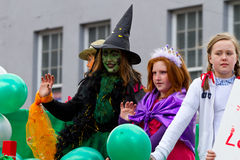 St. Patrick's Day parade in Limerick Stock Image