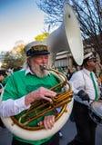 St. Patrick`s Day Parade New Orleans  Louisiana Stock Photos