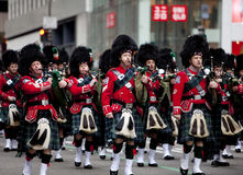 St. Patrick's Day Parade New York 2013 Royalty Free Stock Photo