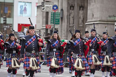 St Patrick's Day Parade Stock Photo