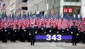 St. Patrick's Day Parade New York 2013 Royalty Free Stock Photos