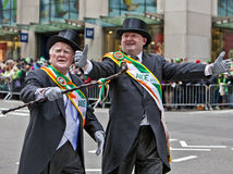 St Patrick's Day Parade Stock Images