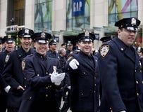 St. Patrick's Day Parade New York 2013 Stock Photos