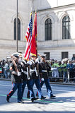 St. Patrick's Day Parade in NYC Royalty Free Stock Photos