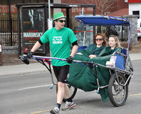 St. Patrick's Day Parade Ottawa Royalty Free Stock Photography