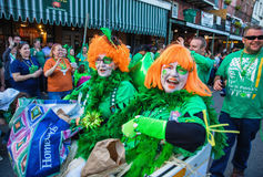 St. Patrick`s Day Parade Royalty Free Stock Photography