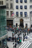St Patricks Day Parade in New York City Royalty Free Stock Image
