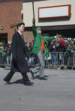 St. Patrick's Day Parade, 2014, South Boston, Massachusetts, USA Royalty Free Stock Photography