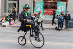 St. Patrick's Day Parade in Toronto Stock Image