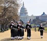 St. Patrick's Day Parade in Washington, DC Royalty Free Stock Images