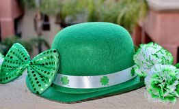 St. Patrick`s Day Party Display. Royalty Free Stock Images