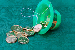 St. Patrick's Day party favors Stock Images