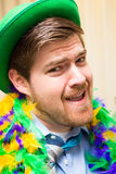 St Patrick's day party guy Royalty Free Stock Images