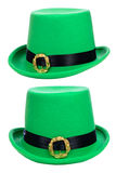 St. Patrick's Day party hat Stock Image