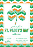 St. Patrick's Day Party Invitation Template - Vector Stock Photos