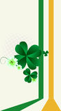 St.Patrick's Day post card Royalty Free Stock Photography