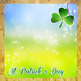 St.Patrick's Day postcard Royalty Free Stock Photo