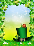 St.Patrick's Day postcard Royalty Free Stock Photography