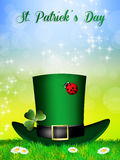 St.Patrick's Day postcard Stock Photography