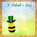 St.Patrick's Day postcard Stock Images