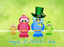 St.Patrick's Day postcard Royalty Free Stock Images