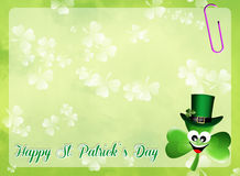 St.Patrick's Day postcard Stock Photo
