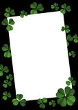 St Patrick's day poster Royalty Free Stock Photography