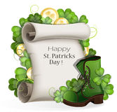St. Patrick's Day poster Royalty Free Stock Images