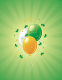St.Patrick's Day retro background. Stock Photos