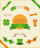 St. Patrick's Day (Ribbons And Banners Collection Stock Photos