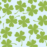 St. patrick`s day seamless pattern Stock Photography
