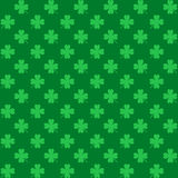 St. Patrick's Day Seamless Pattern with Clover for wallpapers Royalty Free Stock Photos