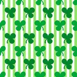 St. Patrick's Day seamless pattern Royalty Free Stock Photography