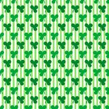 St. Patrick's Day seamless pattern Stock Photos