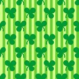 St. Patrick's Day seamless pattern Stock Images