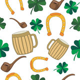 St.Patrick's Day seamless pattern for wallpapers, gift papers, patterns fills, textile vector illustration
