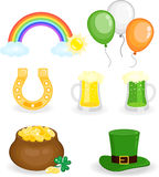 St. Patrick's Day set Stock Photo