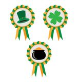 St. Patrick's Day, set of banners. Royalty Free Stock Photography