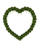 St Patrick's Day Shamrock Heart Stock Photos
