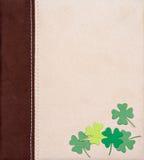 St. Patrick's Day shamrocks Royalty Free Stock Images