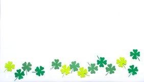 St. Patrick's Day shamrocks Stock Photography